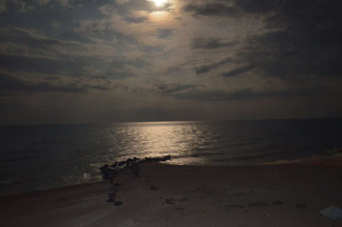 ночь на пляже - Varvara Aravrav
