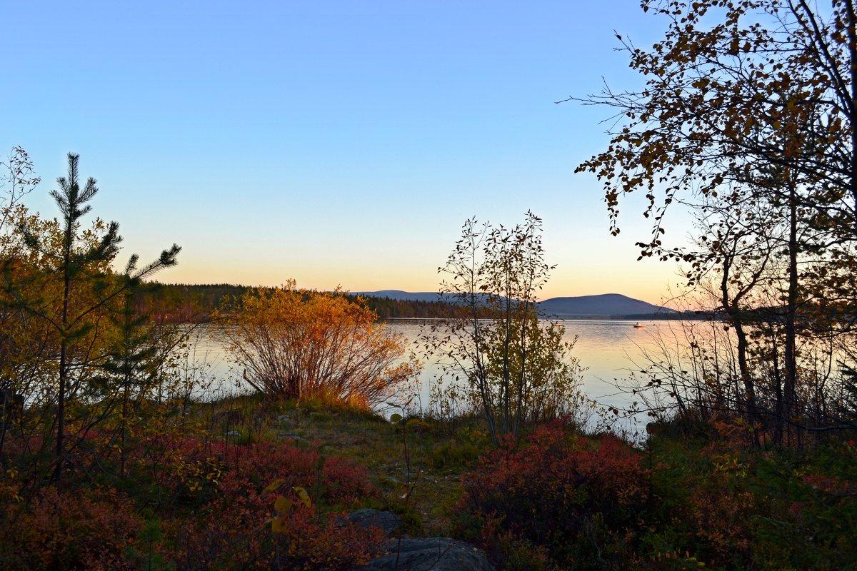 Вечер у озера - Ольга