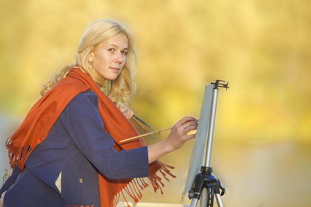 ...художница - Elena Tatarko (фотограф)