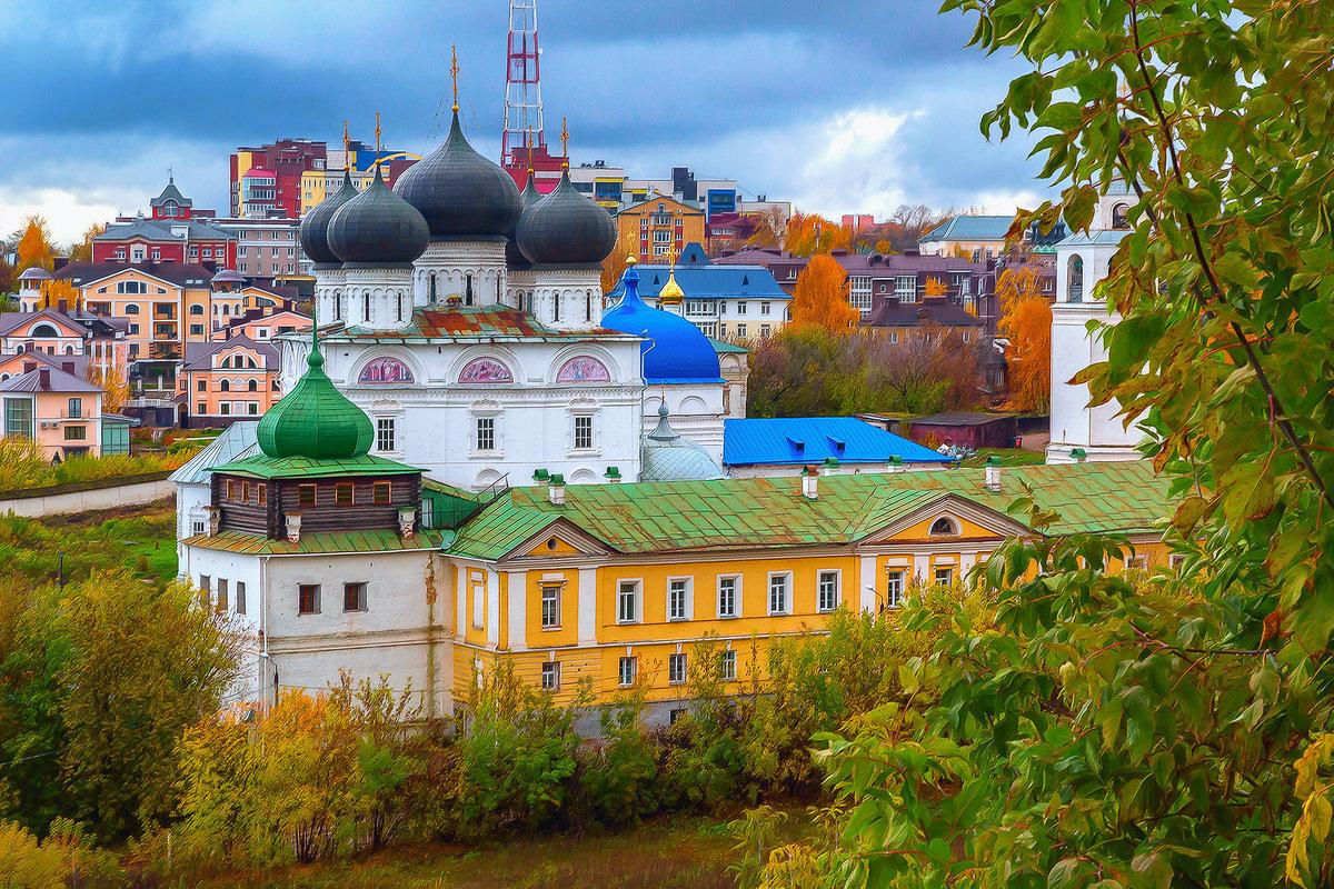 трифонов  монастырь - михаил скоморохов