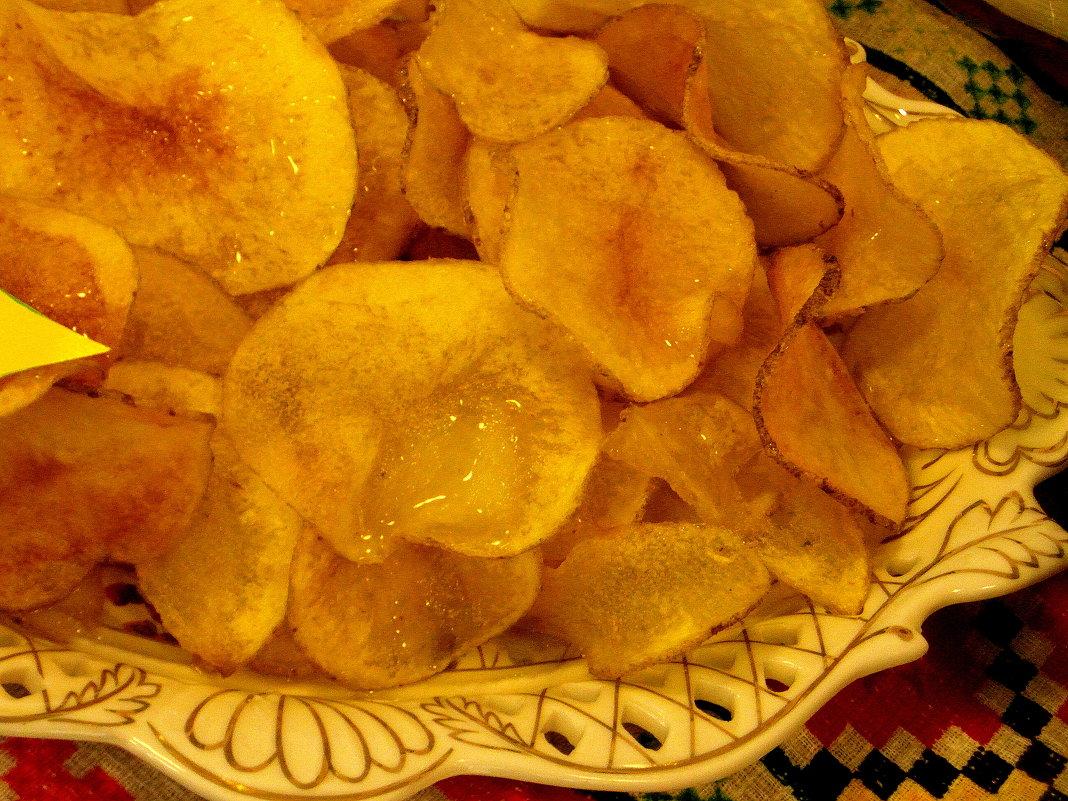 Домашние картофельные чипсы. - nadyasilyuk Вознюк