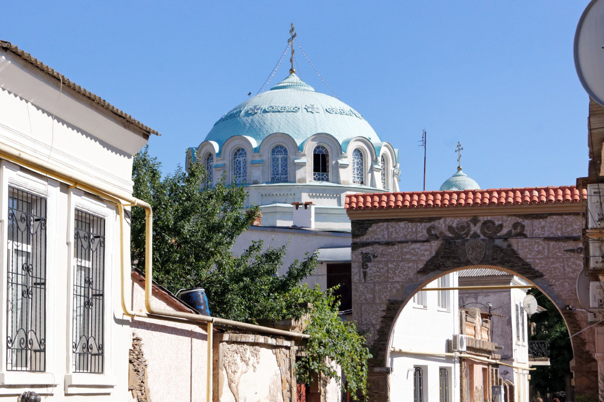 Евпатория.Купол собора Николая Чудотворца - герасим свистоплясов