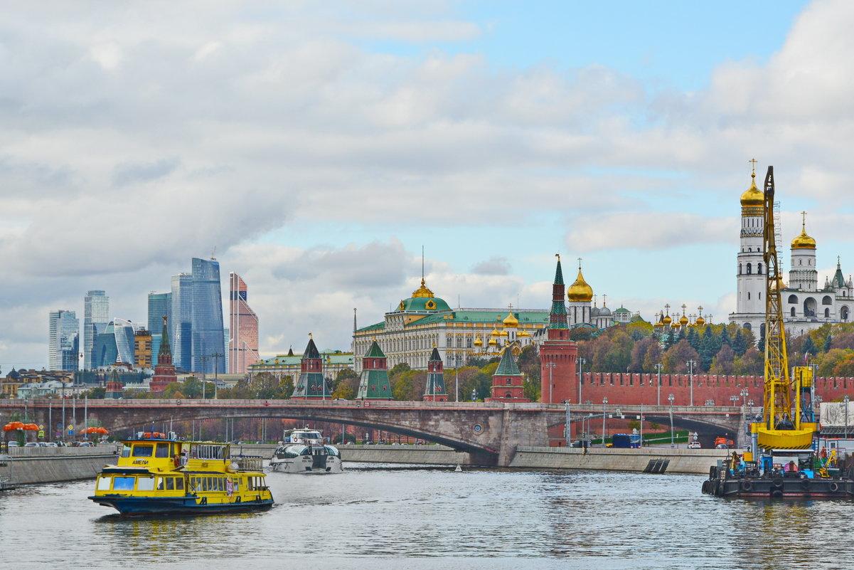Московский пейзаж. - Анастасия Смирнова
