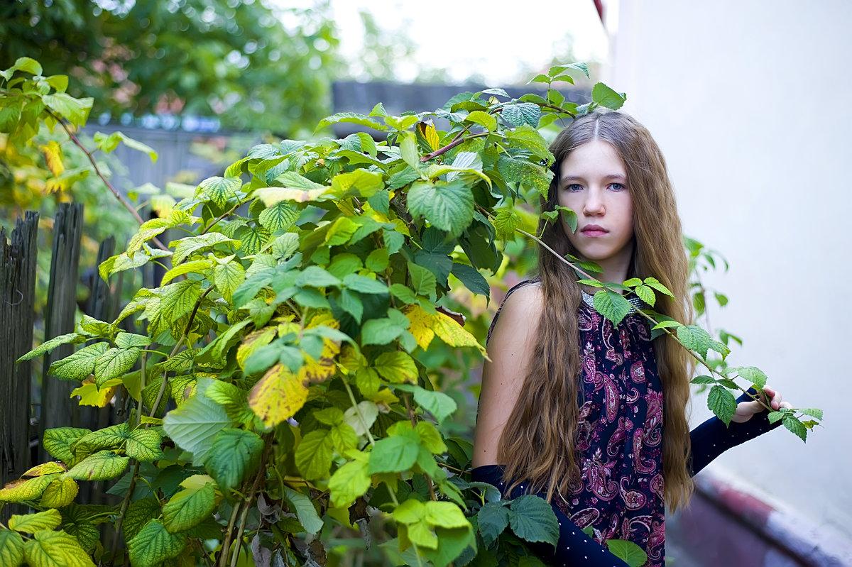 У себя во дворе. - Elena Vershinina