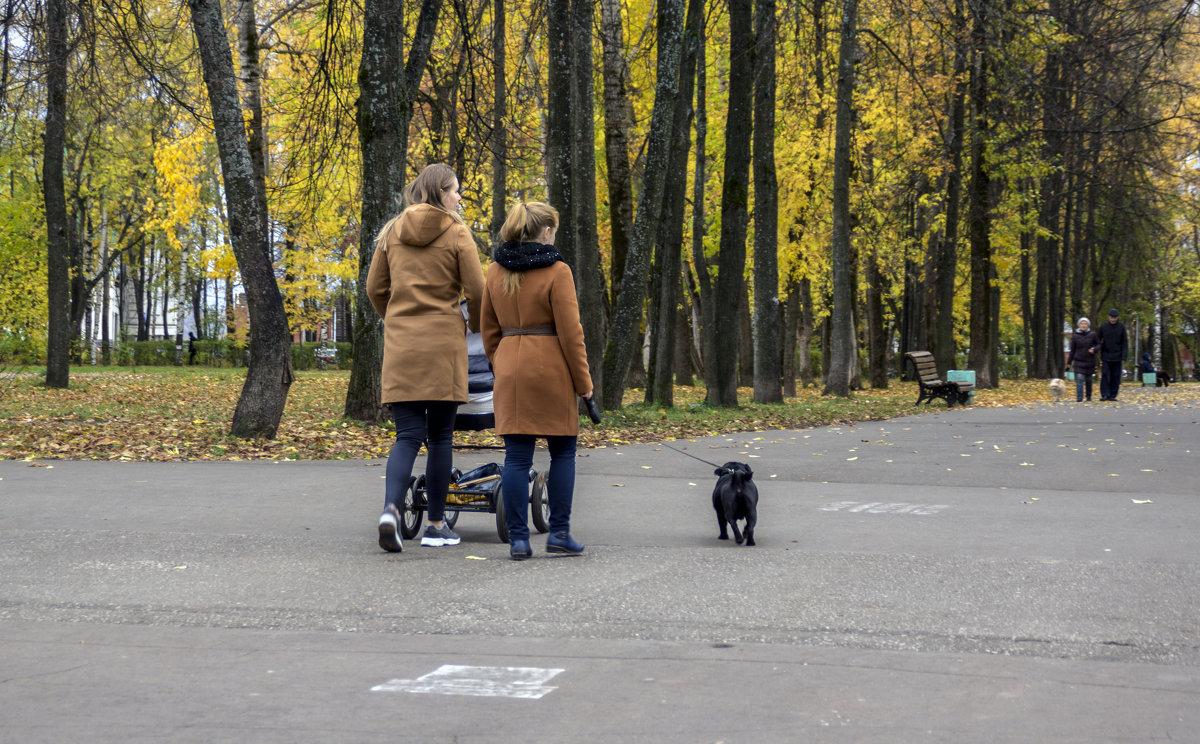 в осеннем парке - gribushko грибушко Николай