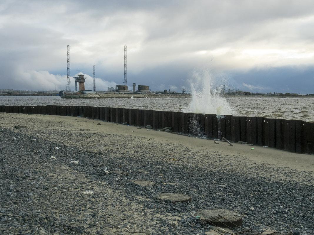Северодвинск. Белое море. Сегодня штормит (3) - Владимир Шибинский