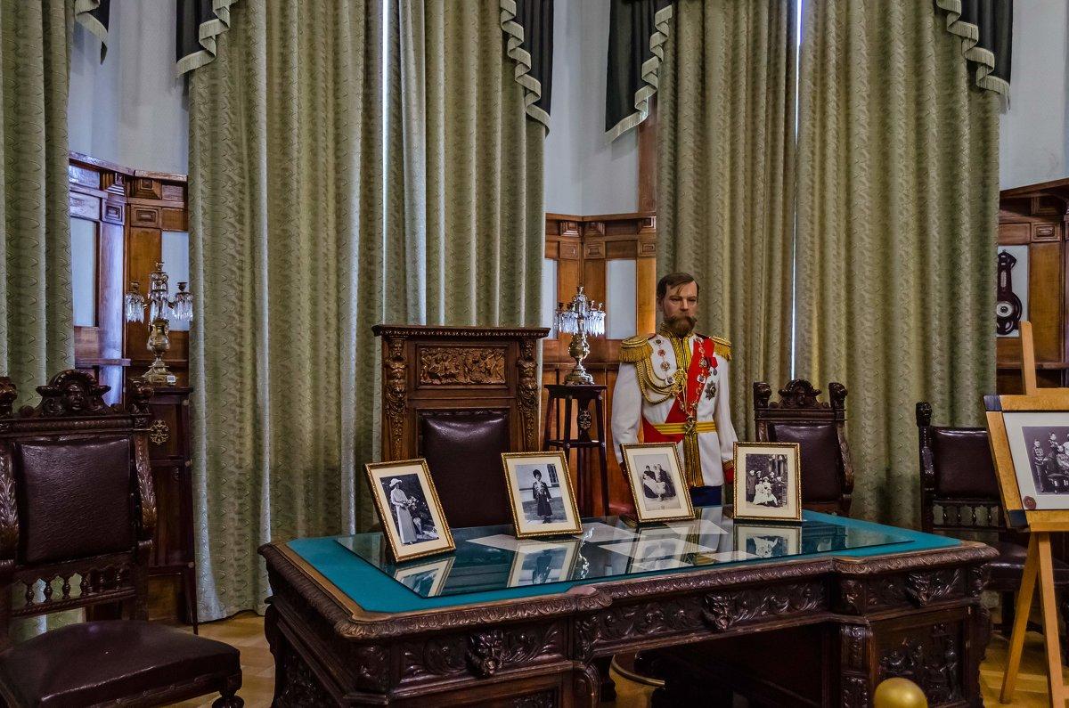 Кабинет царя. Ливадийский дворец - Андрей Щетинин