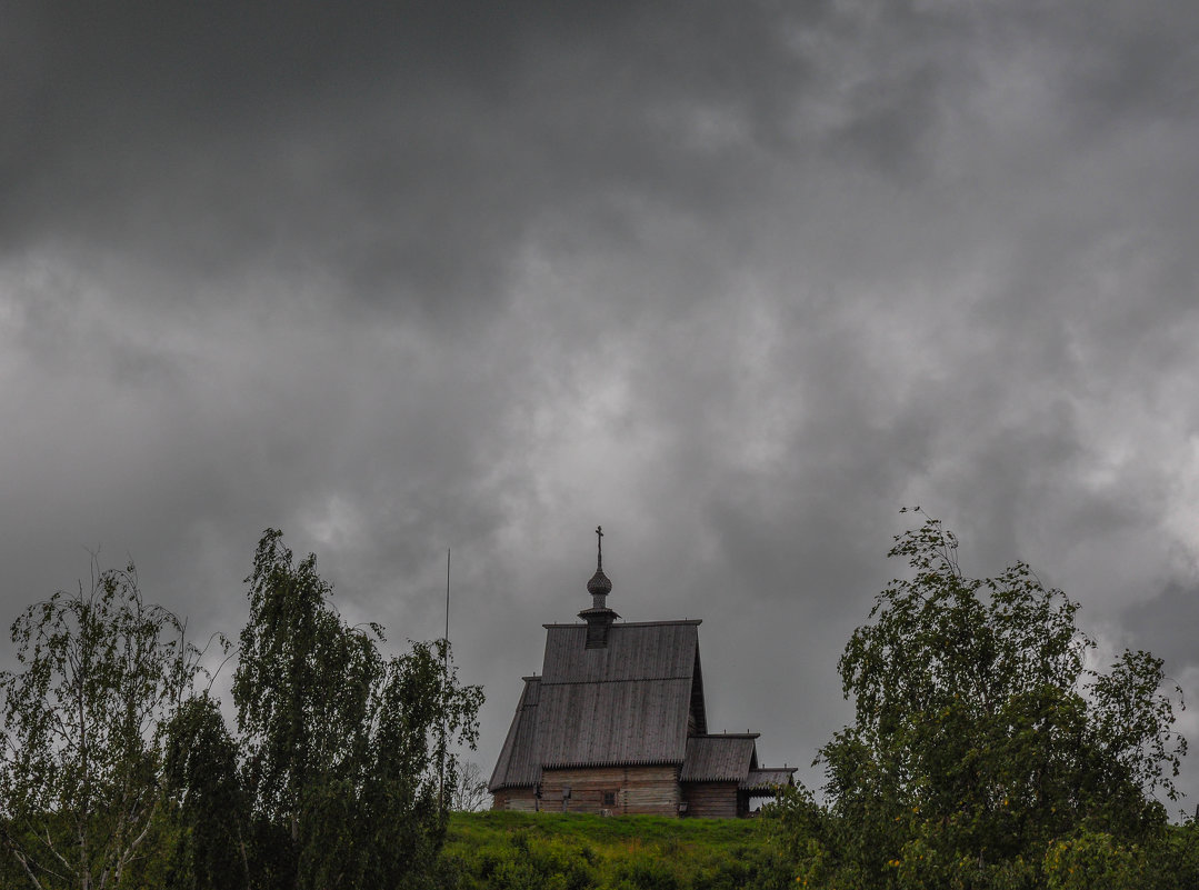 Старая церковь в Плесе - Сергей Тагиров