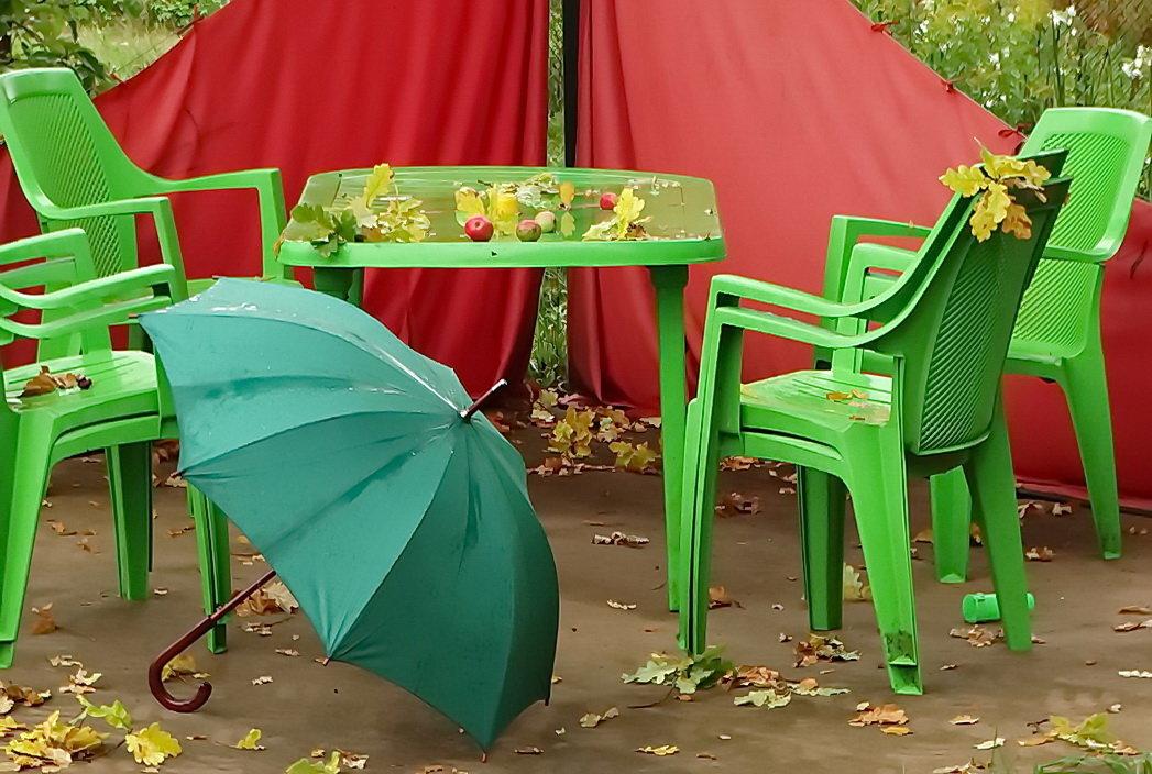Столик,дождь и осень - Владимир Гилясев