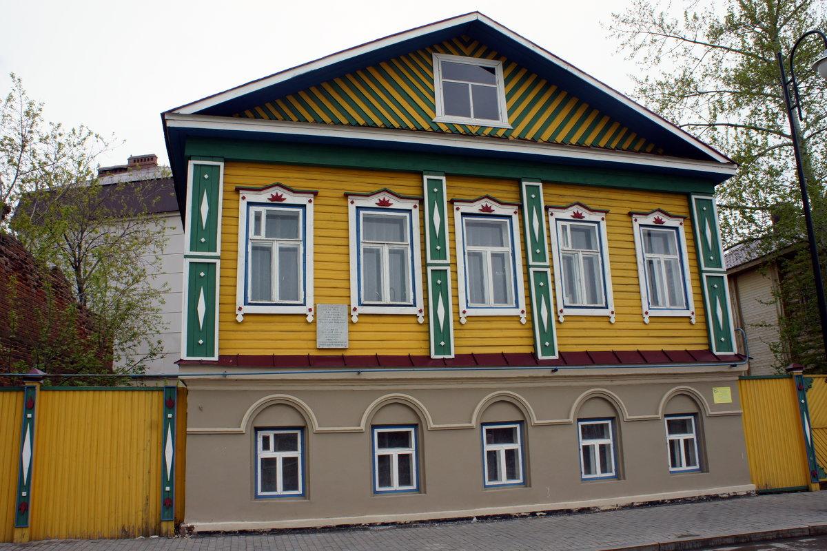 Старая Татарская слобода. Дом Марджани - Елена Павлова (Смолова)