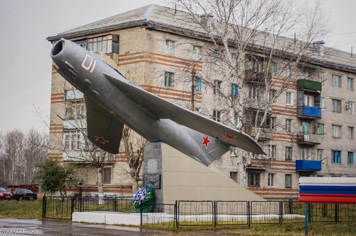 Памятник погибшему экипажу СУ-24М - Ирина Антоновна