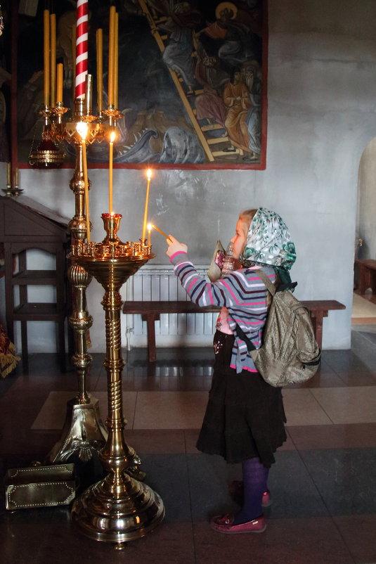Юная паломница - Ольга Крулик