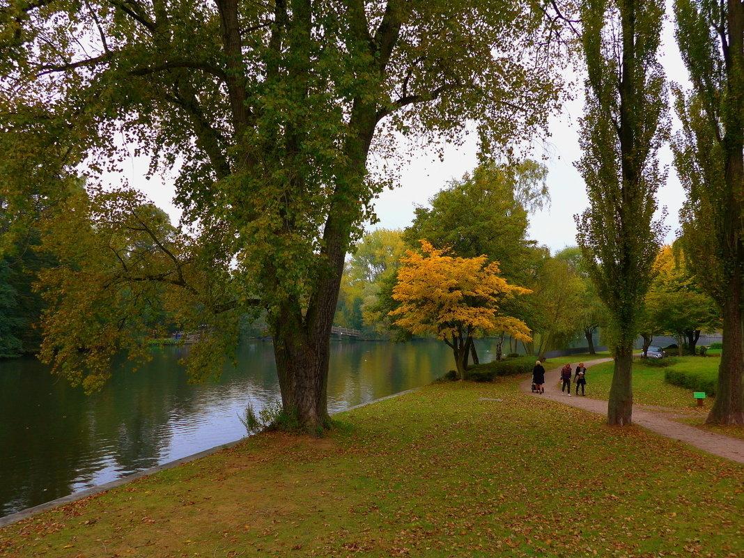 Прогулка осенним днём - Nina Yudicheva