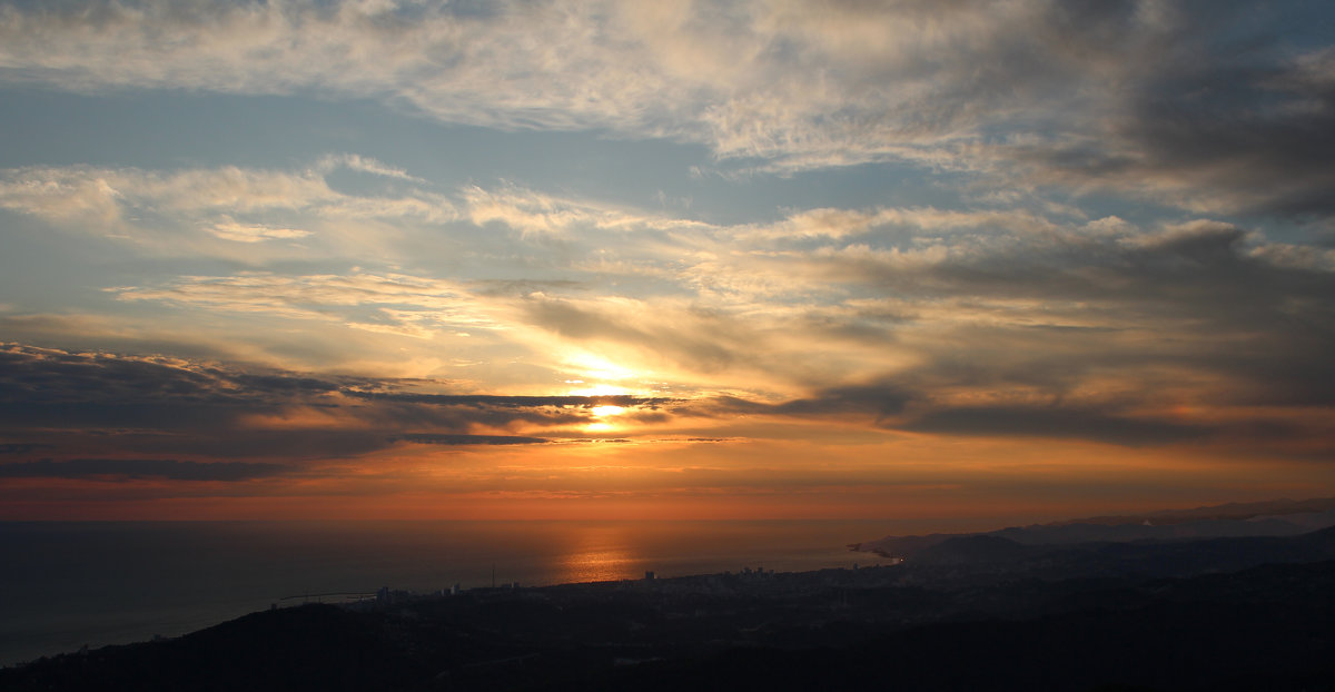 Закат с Ахун - leoligra
