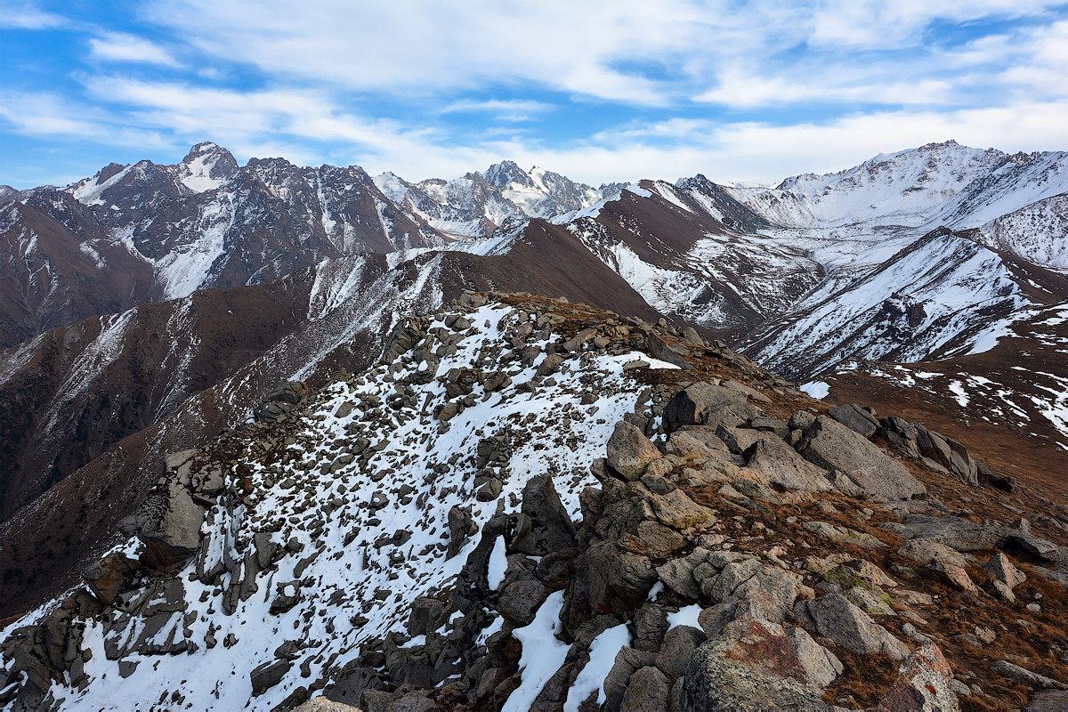 с высоты 3600 м если верить табличке - Горный турист Иван Иванов