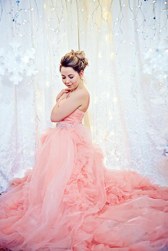 Новогодняя фотосъемка девушки - марина алексеева
