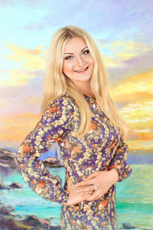 Отрисовка,стилизация под живопись - Ирина Kачевская