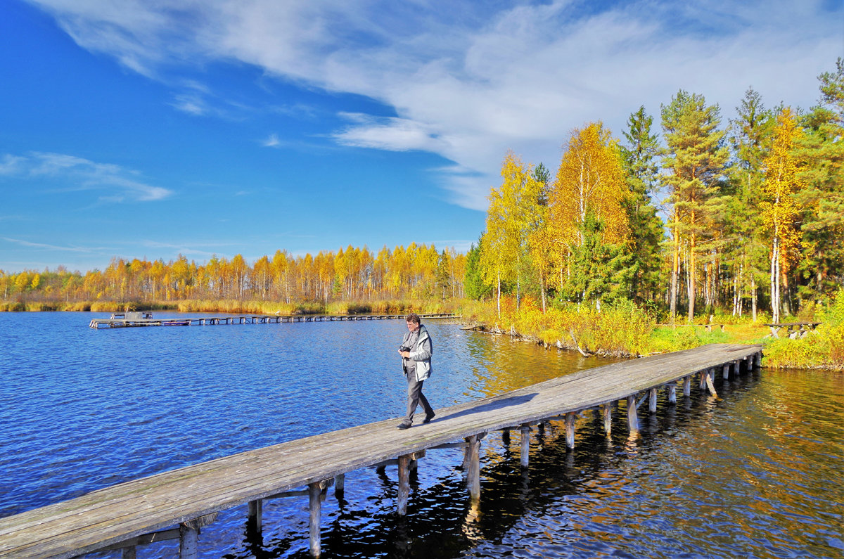Фотограф и озеро - Валерий Талашов