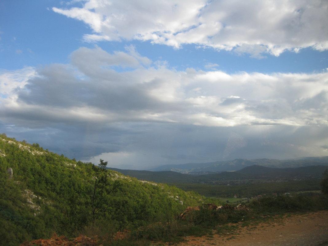 Черногория. На горной дороге. - Лариса (Phinikia) Двойникова