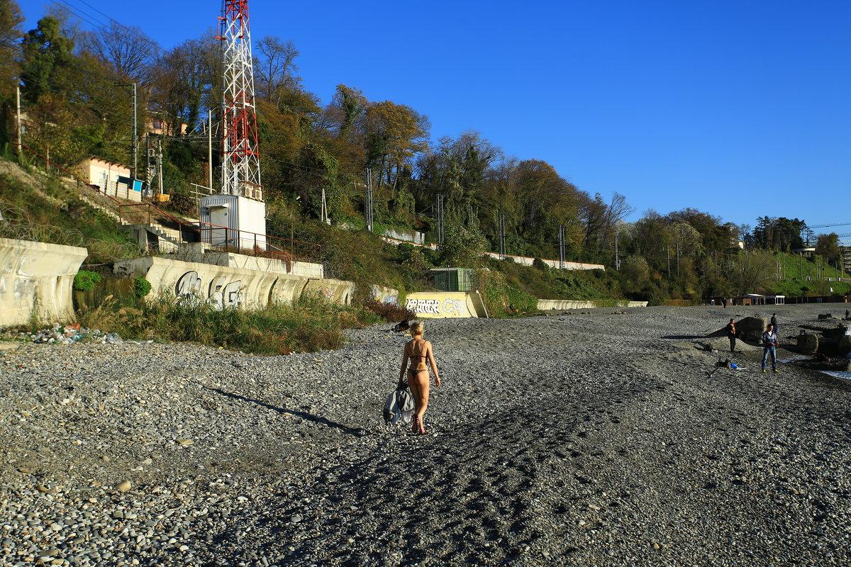 Дикий пляж - valeriy khlopunov