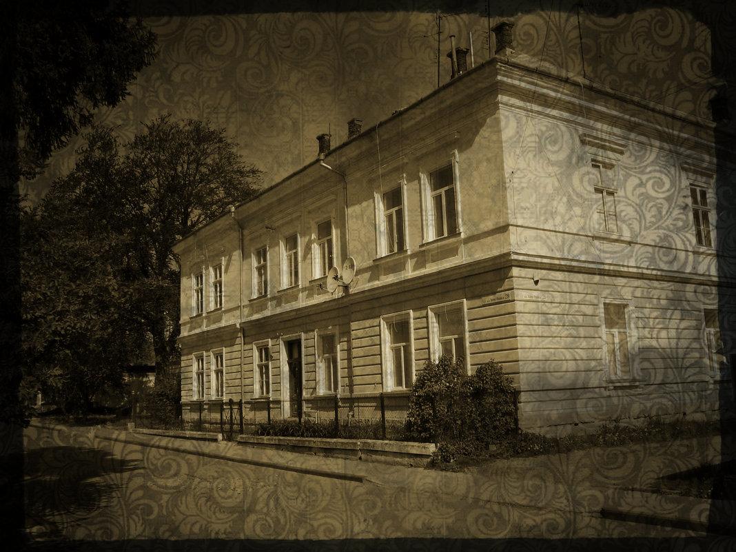 Дрогобыч   в   стиле   ретро - Андрей  Васильевич Коляскин