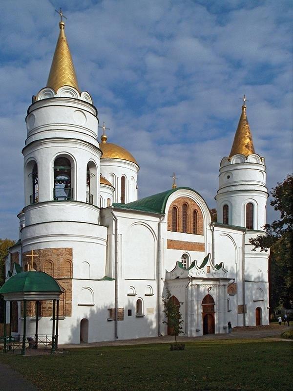 Спасо-Преображенский собор в Чернигове - Сергей Тарабара