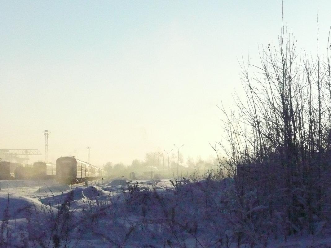 Морозным днём - Виктор