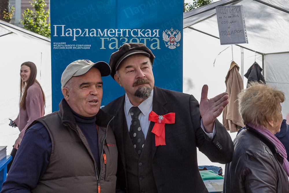 На фестивале прессы в Москве - Галина Хорцева
