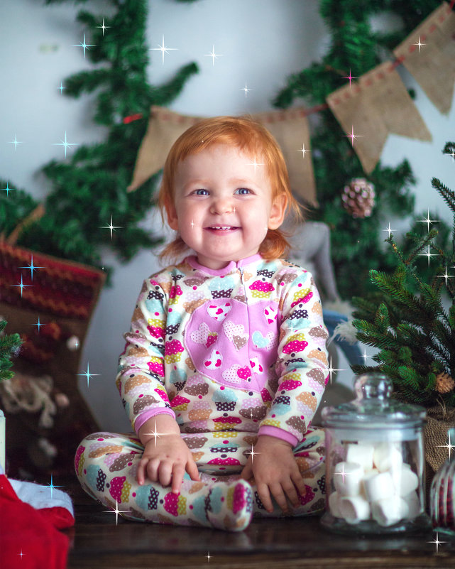 новогоднее солнышко - Мария Корнилова
