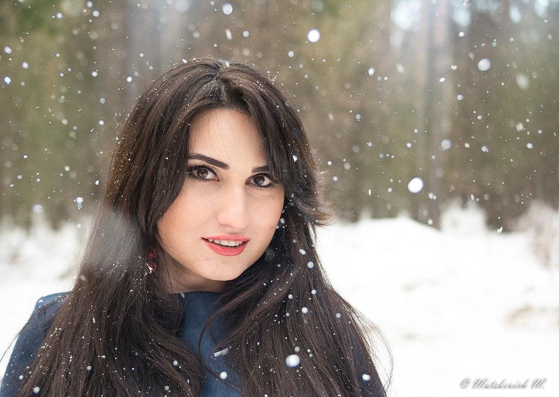В снегу - Мария Мацкевич