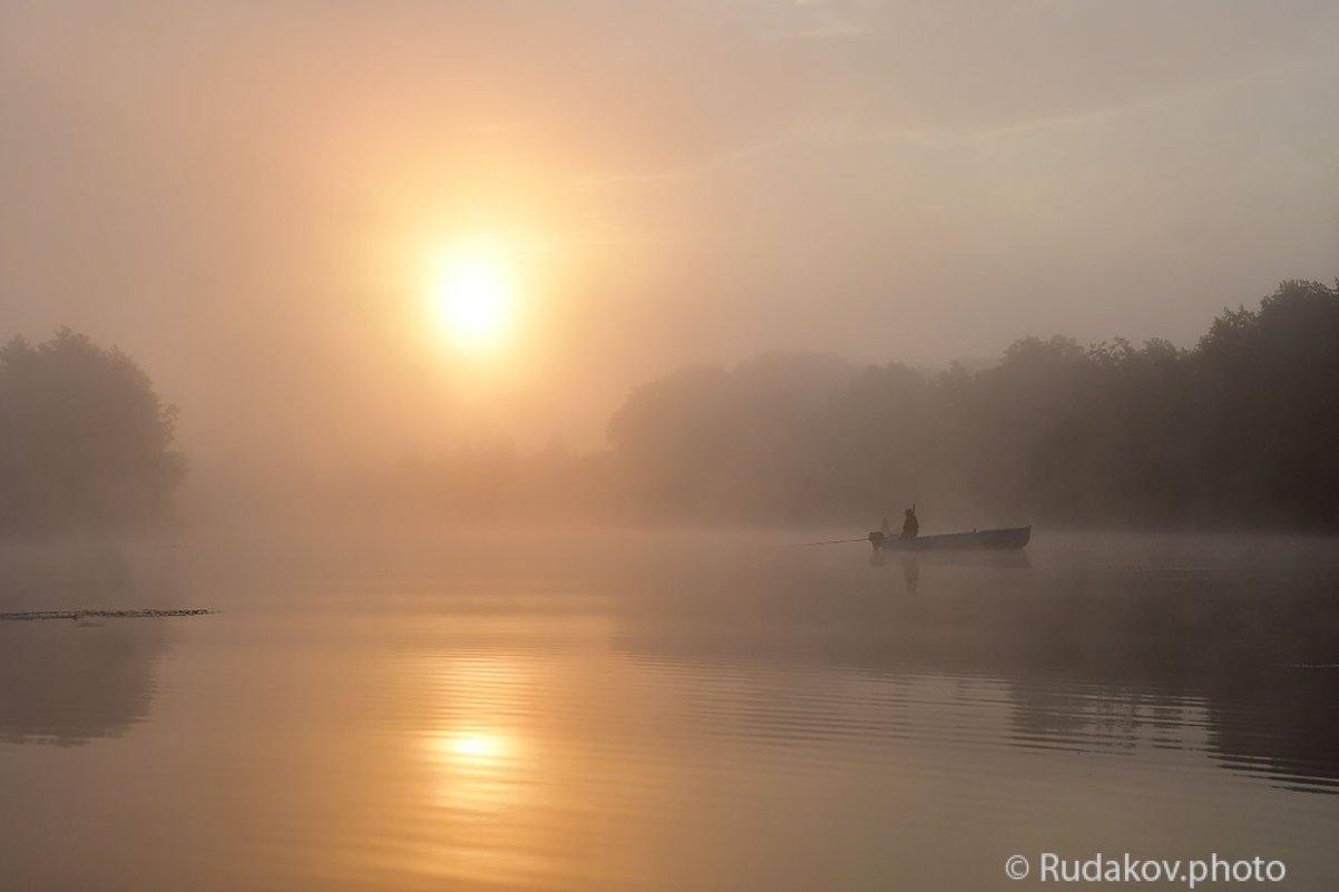Рассвет с рыбаками - Сергей