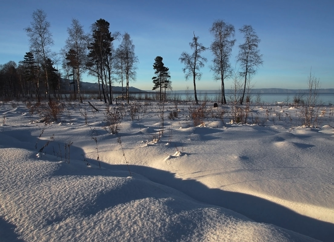 На Байкале в декабре... - Александр Попов
