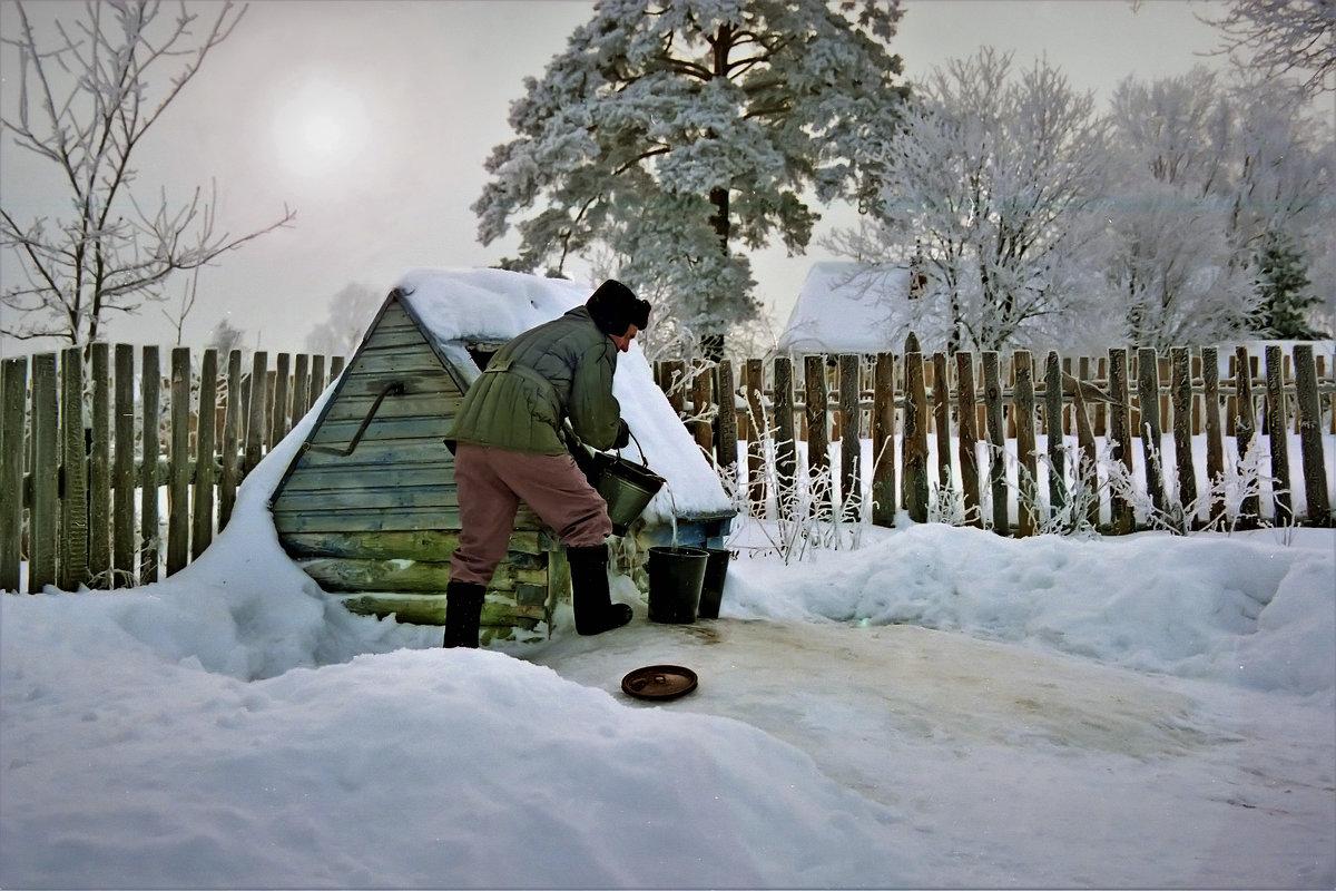 У колодца вода льется - Валерий Талашов