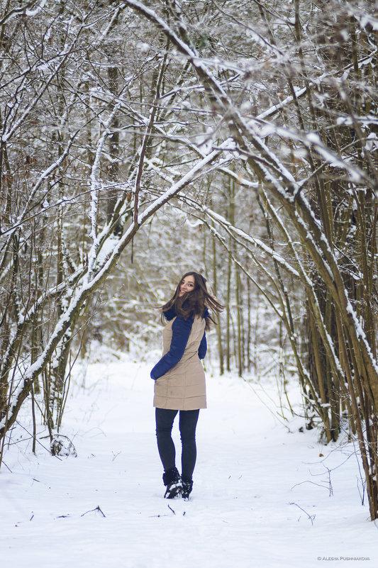 Зимний туннель, загадай желание... - Алеся Пушнякова