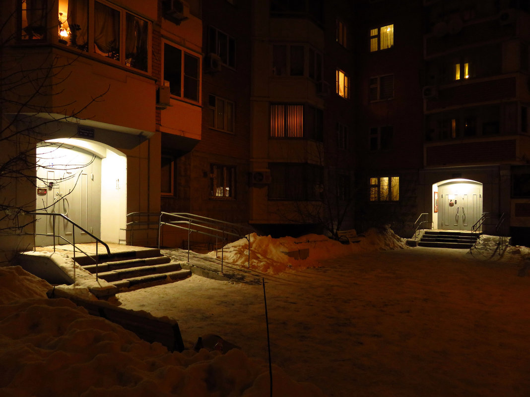 Когда стихает жизнь города - Андрей Лукьянов