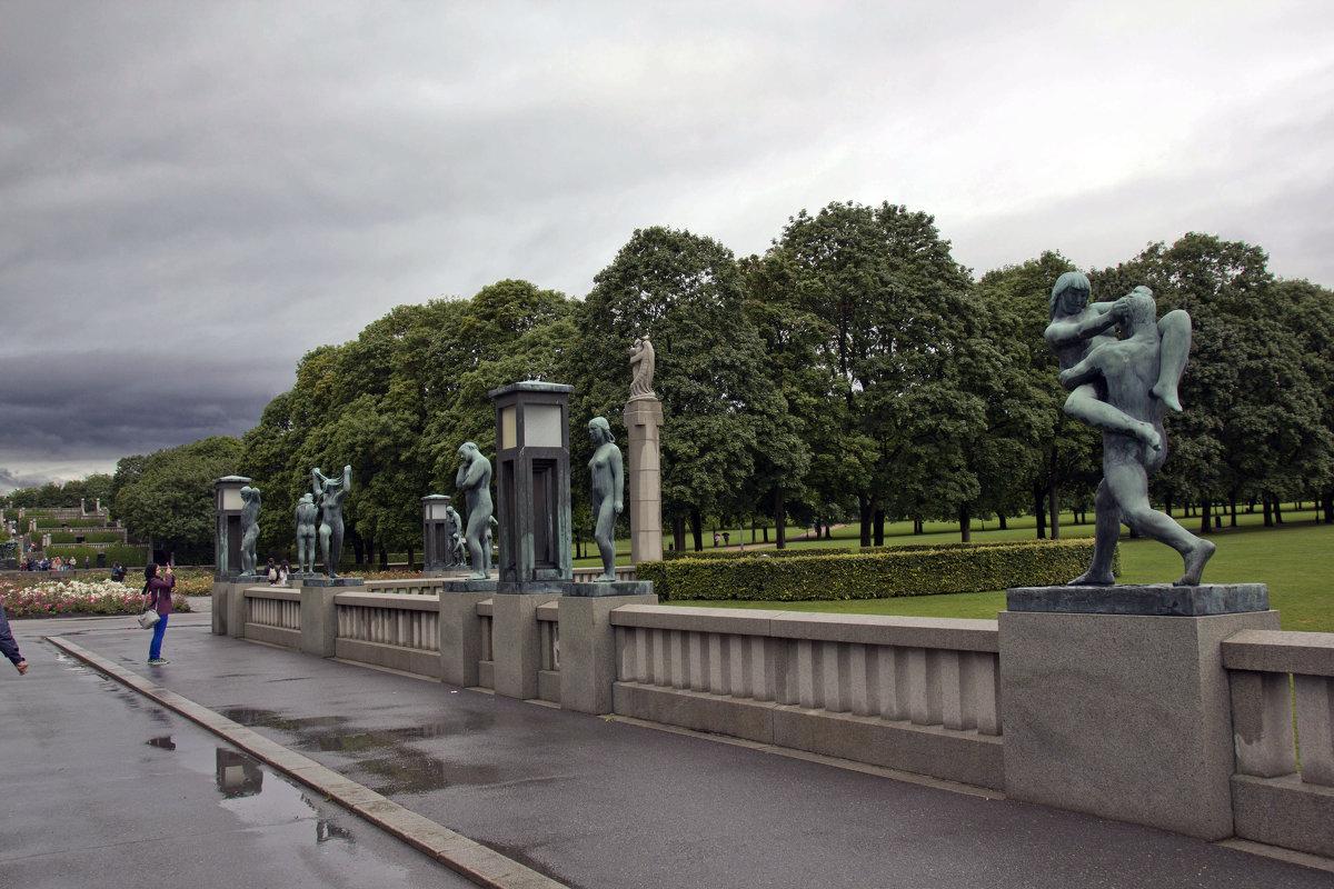 Вход в парк Вигеланда - Александр Рябчиков