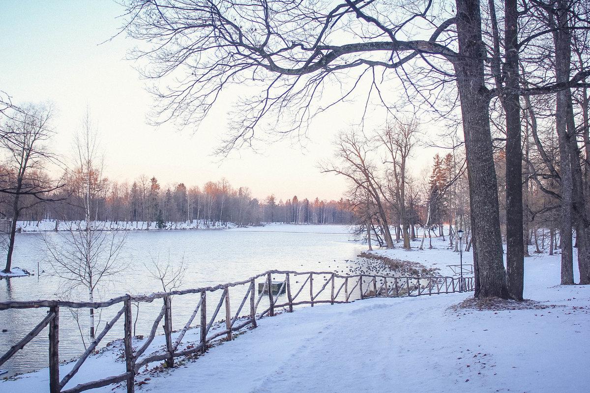 Рассвет в парке - Алёнка Шапран