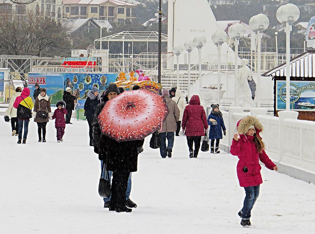 Можно поиграть в снежки - Валерий Дворников