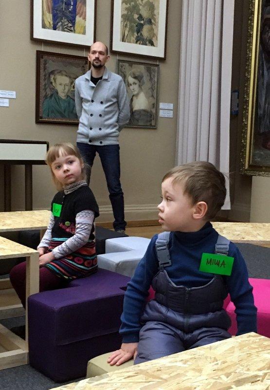 Мастер-класс в музее - Сергей Рубан