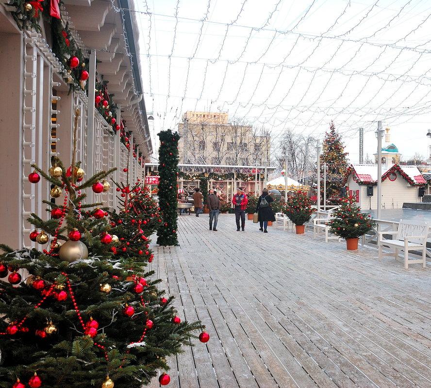 Новогодняя Тверская площадь - Константин Поляков