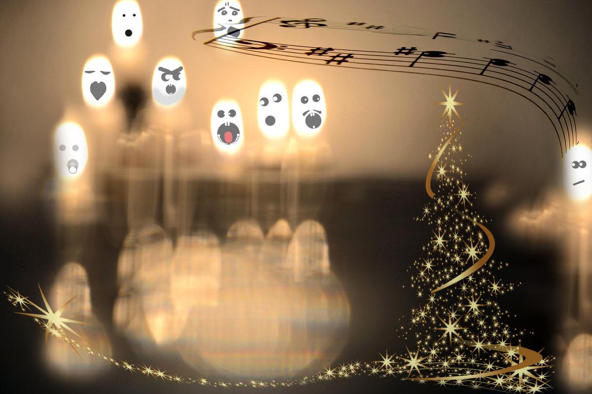 Новогодняя песня.. - Лилия .