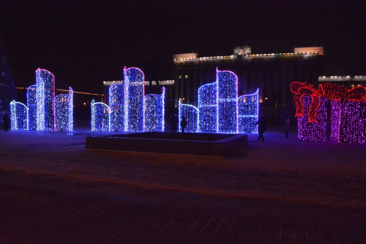 К встрече Нового года Московская площадь готова!!!! - Валентина Папилова