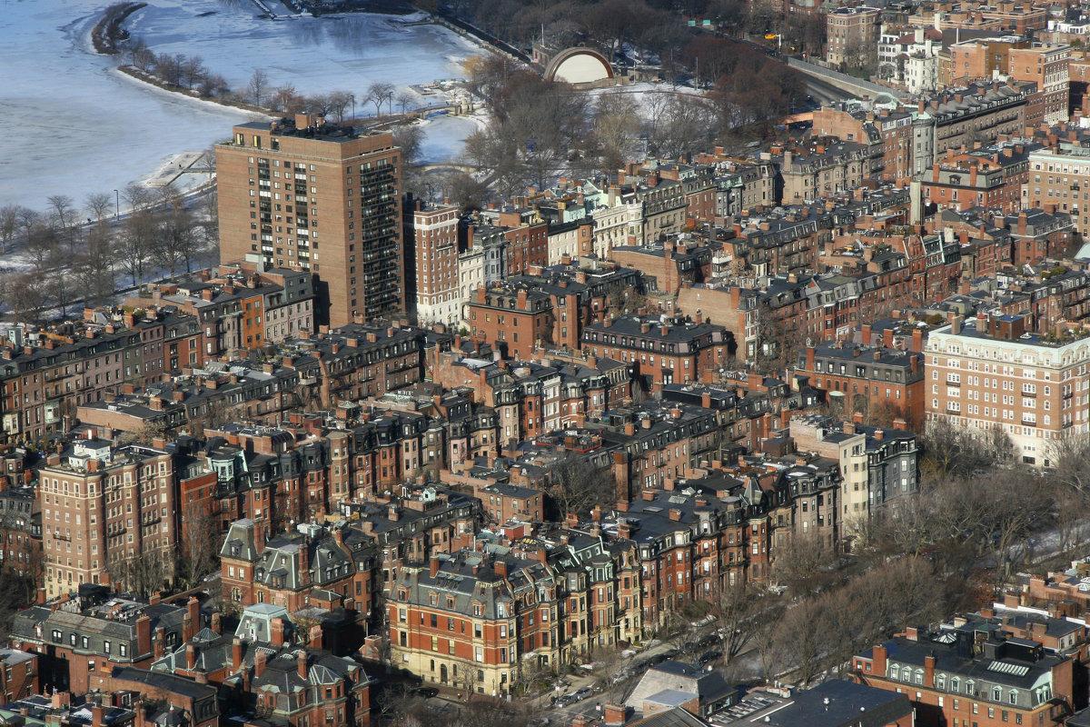 Бостон сверху - Мария Самохина