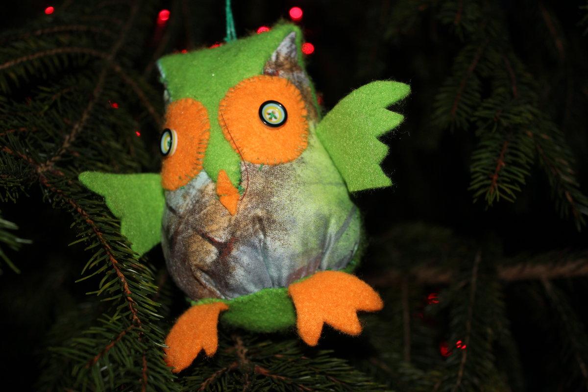 Новый год у орнитологической станции - Марина Домосилецкая