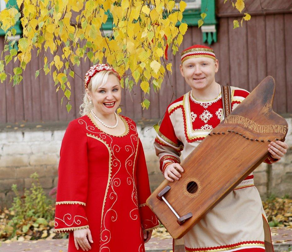 гусляры - брат и сестра - Елена Малкова
