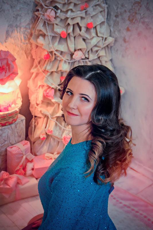 Новогодняя фотосессия - Светлана Луресова
