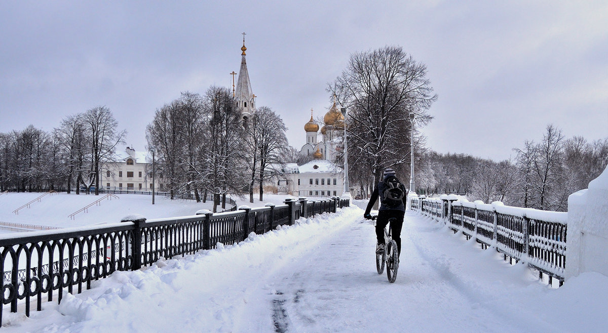 Зима ярославская - Николай Белавин