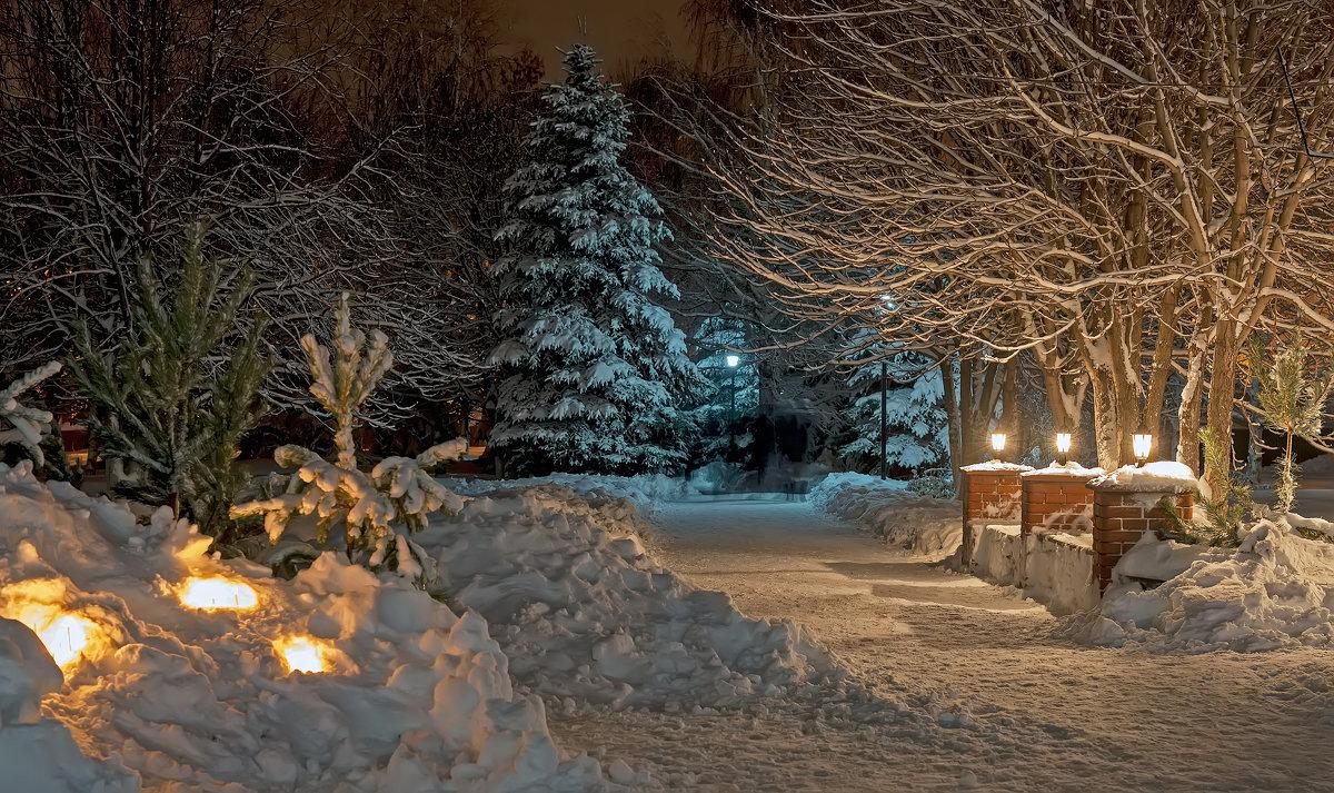 Ночь на Рождество. - Сергей Щербатюк