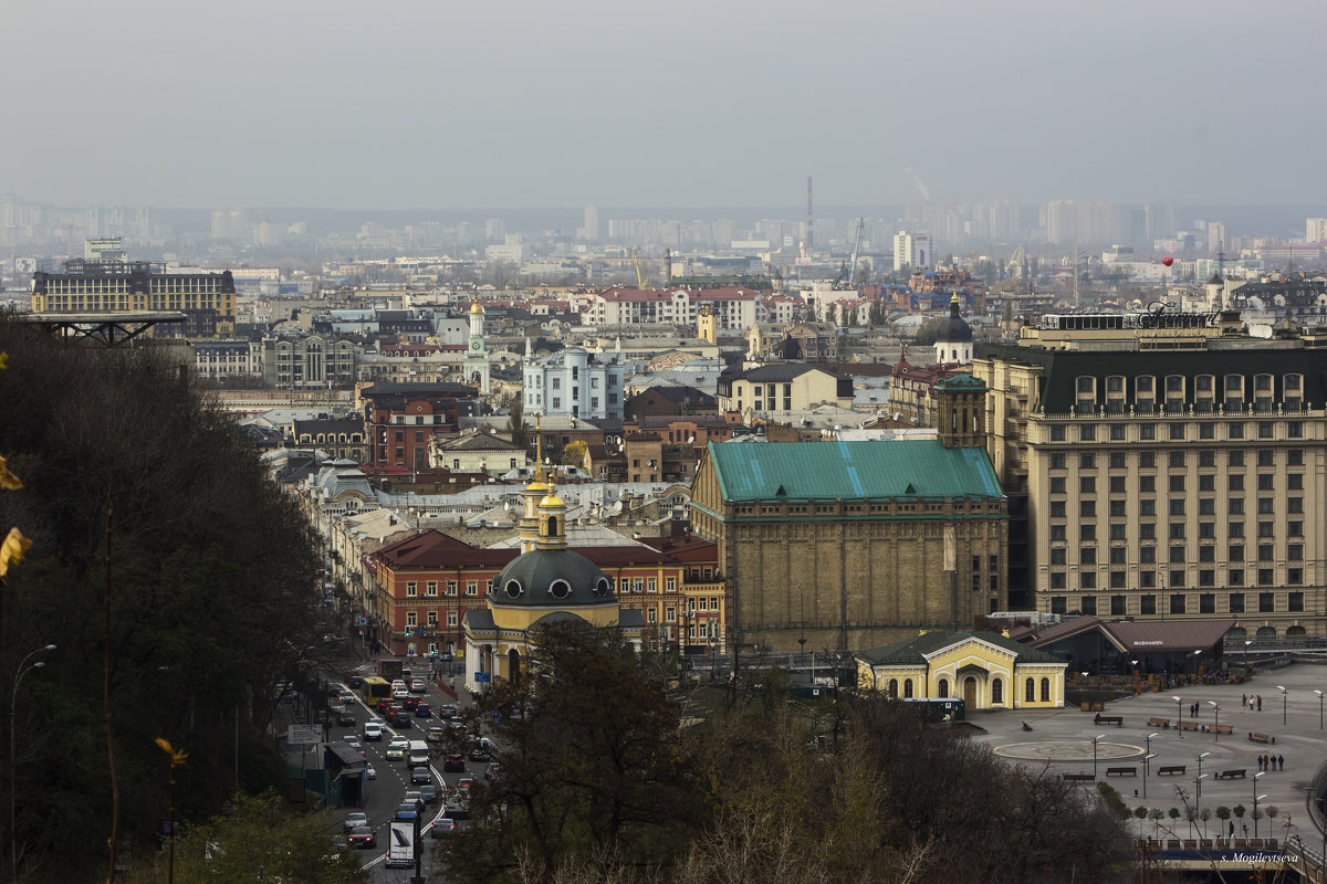 Купола, крыши и китайский фонарик. - Svetlana