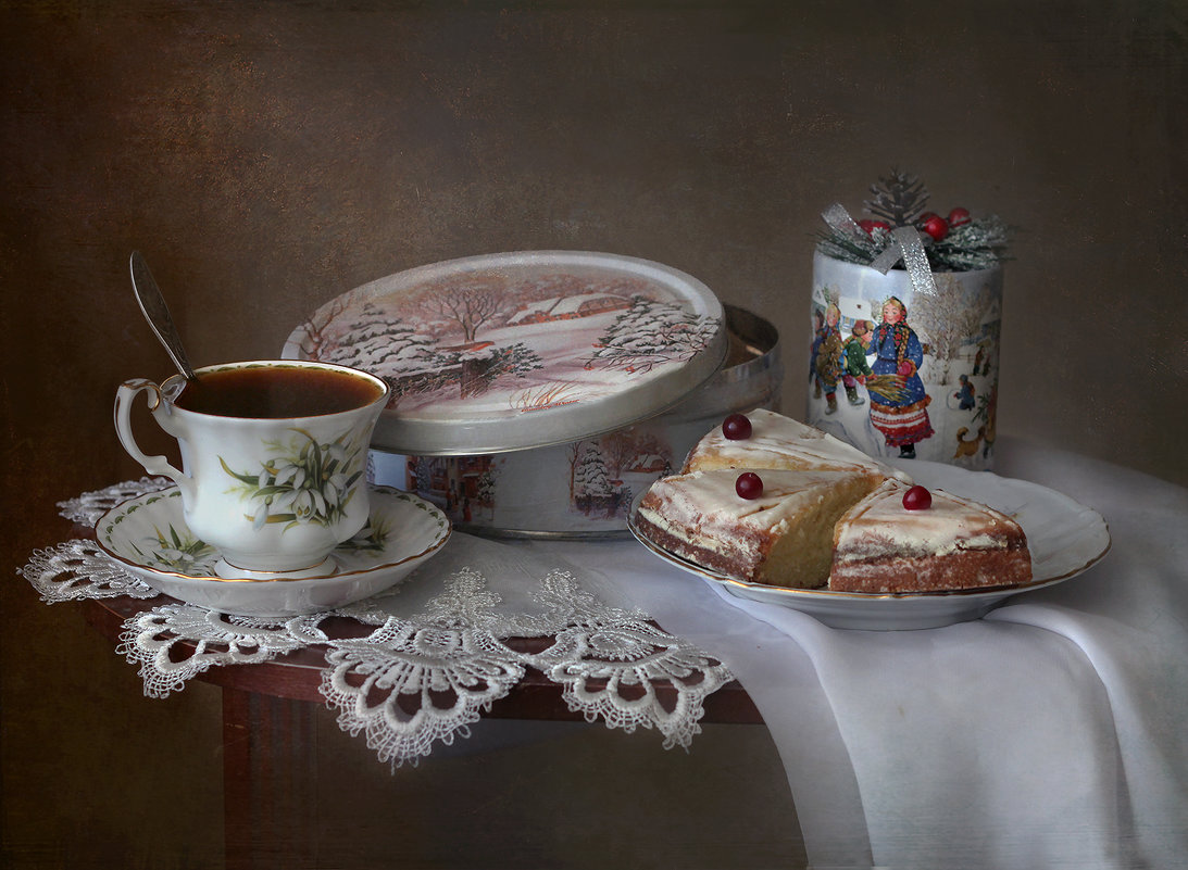 Рождественское чаепитие - lady-viola2014 -